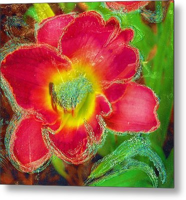 Coming To Life Metal Print by Anne-Elizabeth Whiteway