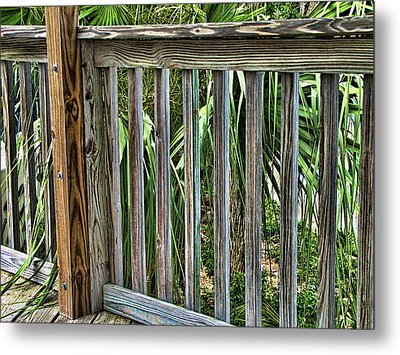 Containment Metal Print by Wendy J St Christopher