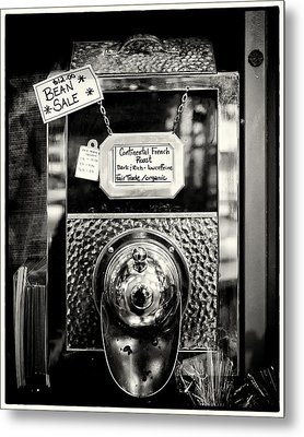Continental French Roast Metal Print by Tanya Harrison