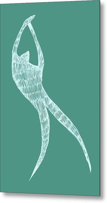 Dancer Metal Print by Michelle Calkins