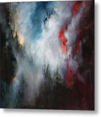 Delusions Of  Granduer Metal Print by Lissa Bockrath