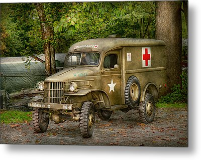 Doctor - Mash Unit  Metal Print by Mike Savad