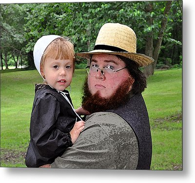 Father Daughter Time Metal Print by Brian Graybill