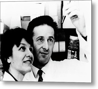George Klein Metal Print by National Cancer Institute