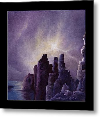 Girnigoe Castle Metal Print by James Christopher Hill