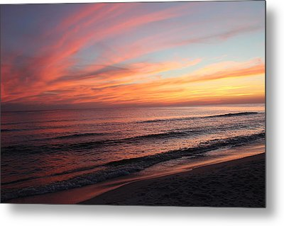 Glorious Sunset Metal Print by Vicki Kennedy