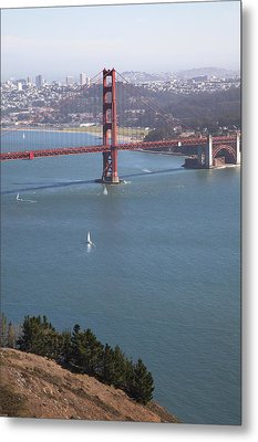 Golden Gate Bridge Metal Print by Jenna Szerlag