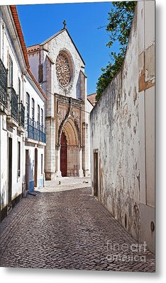 Gothic Church Metal Print by Jose Elias - Sofia Pereira