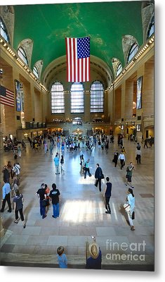 Grand Central Station New York City Metal Print by Amy Cicconi