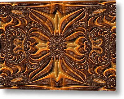 Hand-tooled Metal Print by Wendy J St Christopher