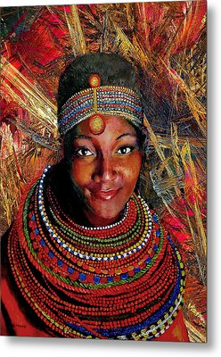 Heart Of Africa Metal Print by Michael Durst