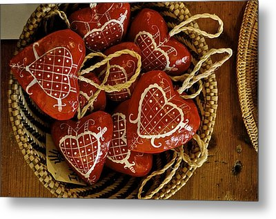 Hearts For Haiti  Metal Print by Brynn Ditsche