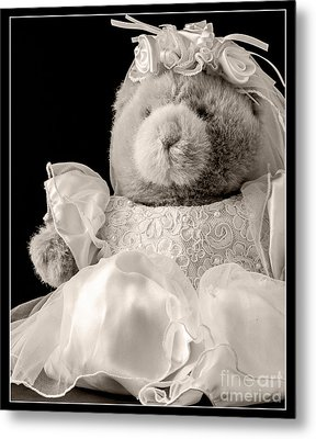 Here Comes The Bride Metal Print by Edward Fielding