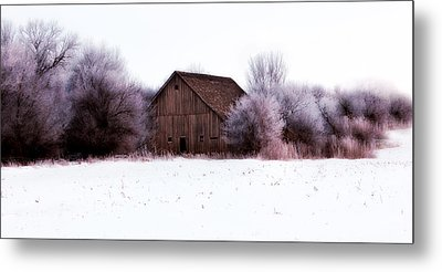 Hidden Barn Metal Print by Julie Hamilton