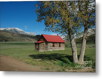 High Lonesome Ranch Metal Print by Jerry McElroy