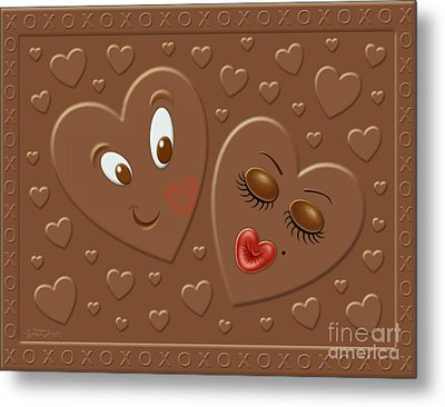 His And Hersheys Metal Print by Cristophers Dream Artistry