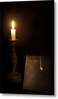 Holy Bible Metal Print by Bill Wakeley