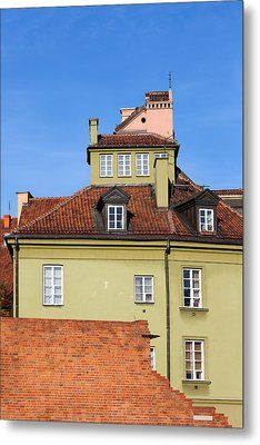 House In The Old Town Of Warsaw Metal Print by Artur Bogacki