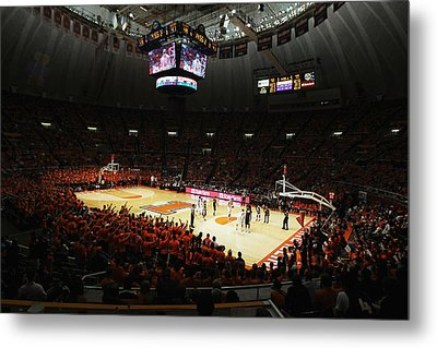 Illinois Fighting Illini Assembly Hall Metal Print by Replay Photos