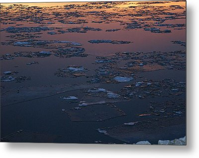Illinois Floe Metal Print by Joe Bledsoe