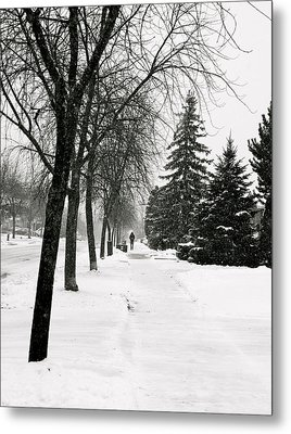 In The Distance Metal Print by Eric Dewar