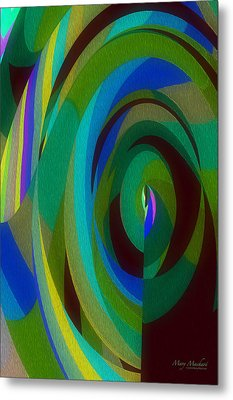 Into The Void Metal Print by Mary Machare