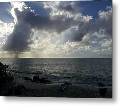 Isolated Showers Metal Print by Kerry Lapcevich