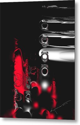 It's Complicated Metal Print by Kume Bryant