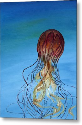 Jelly Metal Print by Anthony Cavins
