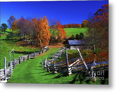 Kentucky Settlement Metal Print by Paul W Faust -  Impressions of Light