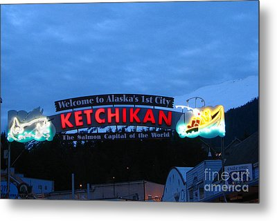 Ketchikan Metal Print by Robert Bales