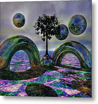 Land Of World 8624030 Metal Print by Betsy C Knapp