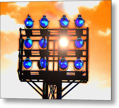 Last Light Metal Print by Wendy J St Christopher