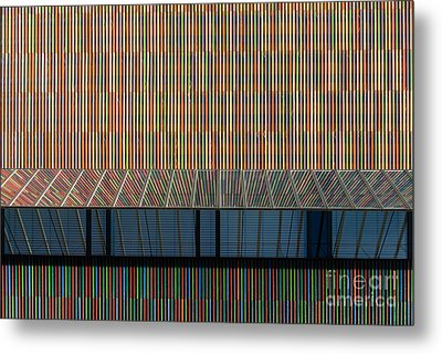 Lines - Pop Metal Print by Hannes Cmarits