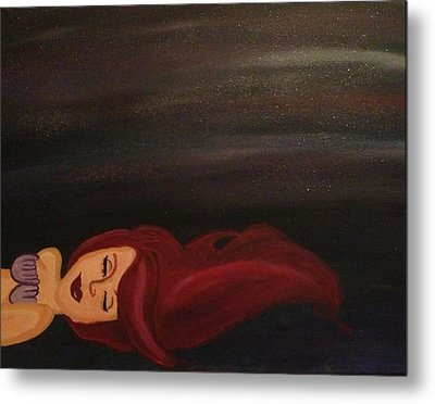Little Mermaid Metal Print by Oasis Tone