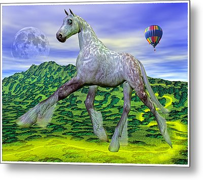 Looking For Dorothy Metal Print by Betsy Knapp