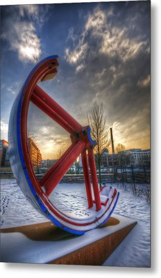 Lost Wheel Metal Print by Nathan Wright