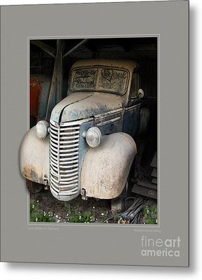 Love Letters In The Dust Metal Print by Rick Kelly