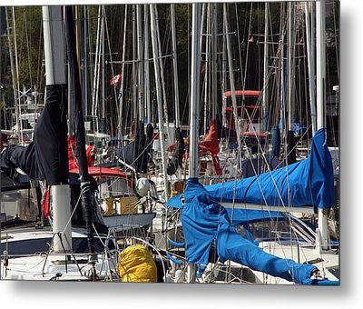 Masts Metal Print by Jim Nelson