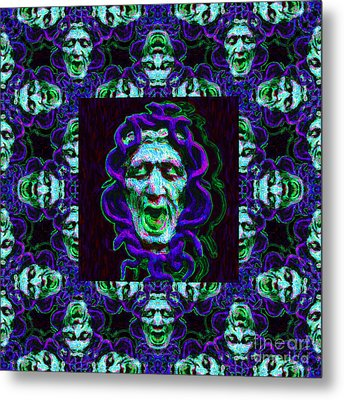 Medusa's Window 20130131p138 Metal Print by Wingsdomain Art and Photography