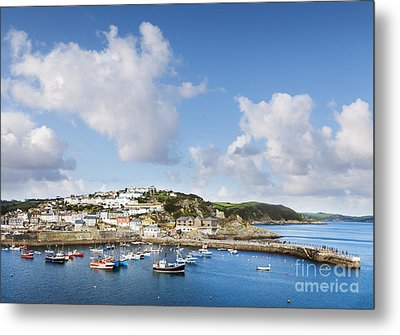Mevagissey Cornwall England Metal Print by Colin and Linda McKie