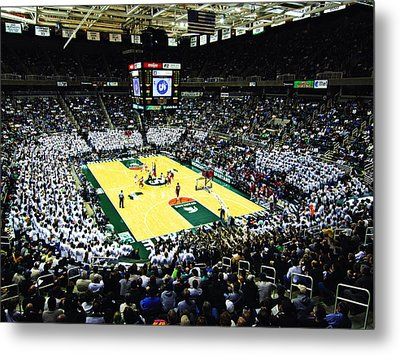 Michigan State Spartans Jack Breslin Student Events Center Metal Print by Replay Photos