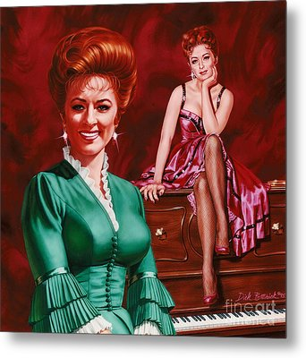 Miss Kitty Metal Print by Dick Bobnick