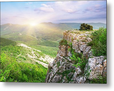 Mointain Beautiful Metal Print by Boon Mee