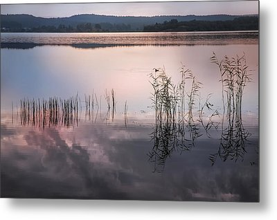 Morning Nocturne. Ladoga Lake. Northern Russia  Metal Print by Jenny Rainbow