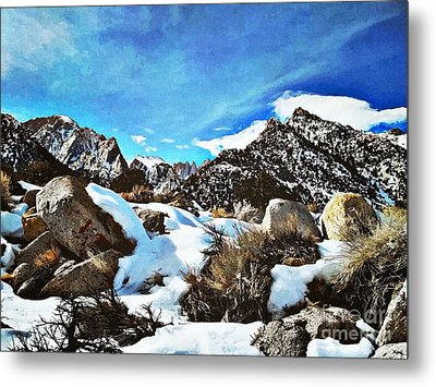 Mount Whitney Vista Metal Print by Glenn McCarthy Art and Photography