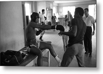 Muhammad Ali Playing Around Metal Print by Retro Images Archive