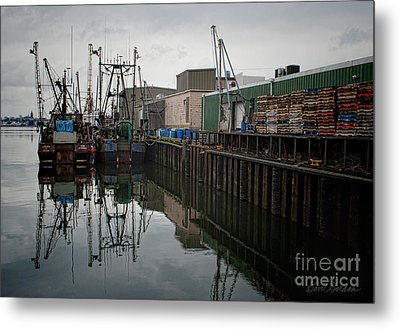 New Bedford Waterfront No. 4 Metal Print by David Gordon