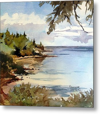 North Shore Lake Superior Metal Print by Spencer Meagher