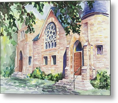 Old Church Metal Print by Svetlana Howe